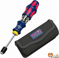 227702 Набор Kraftform Kompakt 20 Red Bull Racing с сумкой WERA WERA WE-027702 от интернет-магазина moyinstrument.su